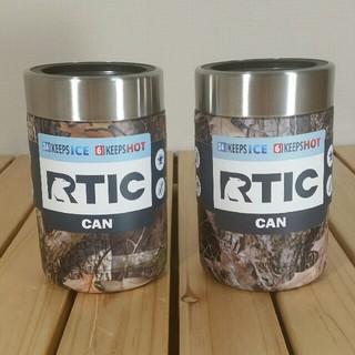 ■新品■2個セット■RTIC Can Cooler 缶クーラー カモ(食器)
