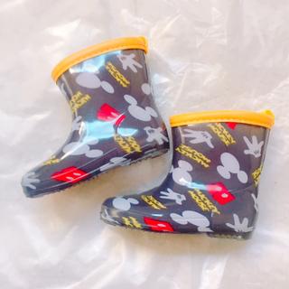 ディズニー(Disney)のミッキー レインブーツ(長靴/レインシューズ)