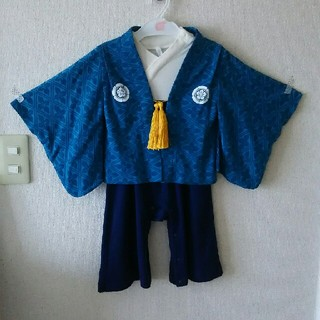 あい5749様専用です 90㎝ 袴ロンパース  (和服/着物)