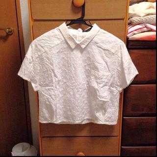 カスタネ(Kastane)の美品♡カスタネ 刺繍ブラウス(シャツ/ブラウス(半袖/袖なし))