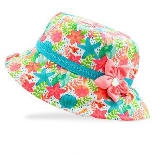 ディズニー(Disney)のUSディズニープリンセス アリエル スイムキャップ   帽子 UPF50 (マリン/スイミング)