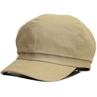 帽子 大きいサイズ レディース メンズ キャスケット ラージ ダークベージュ(キャスケット)