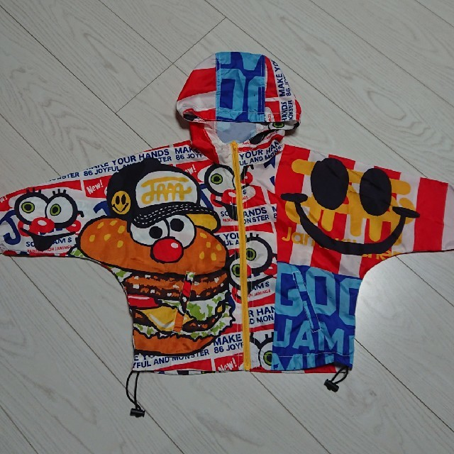 JAM(ジャム)のJAM☆ドルマンナイロンジャンパー キッズ/ベビー/マタニティのキッズ服男の子用(90cm~)(ジャケット/上着)の商品写真