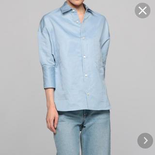 マディソンブルー(MADISONBLUE)のマディソンブルー J Bradley カフシャツ ブルー 01号(シャツ/ブラウス(長袖/七分))