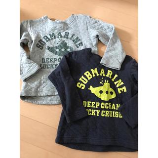 シューラルー(SHOO・LA・RUE)のシューラルーの子供服  100  110のセット(Tシャツ/カットソー)