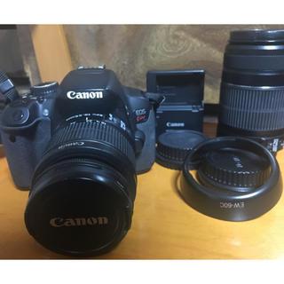 Canon EOS  kissx6i ダブルズーム(デジタル一眼)