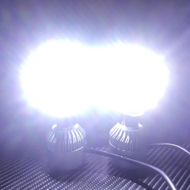 LSlight LED H1 LED dc12 ~24v 60 ワット  自動車/バイクの自動車(トラック・バス用品)の商品写真