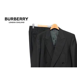 バーバリー(BURBERRY)のBURBERRY LONDON セットアップ ダブル スーツ / ブラック(セットアップ)