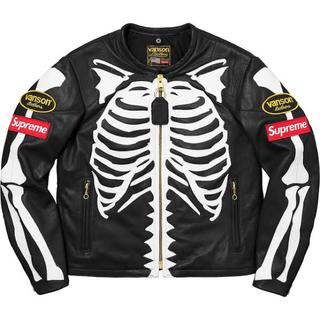 Supreme - Supreme Vanson Leather Bones Jacket バンソン