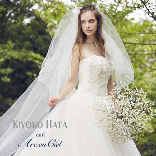 K-1 KIYOKO HATA 限定ウェディングドレス アルカンシエル 白(ウェディングドレス)