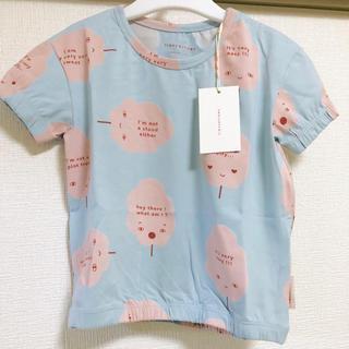 ボボチョース(bobo chose)のTINYCOTTONS 2Y わたあめTシャツ(Tシャツ/カットソー)
