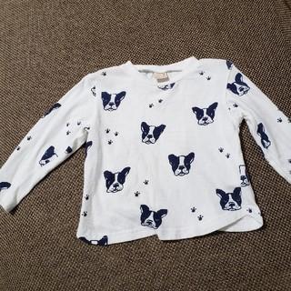 プティマイン(petit main)のプティマイン カットソー 使用感あり (Tシャツ/カットソー)
