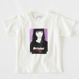 エフシーアールビー(F.C.R.B.)のkyne moussy SW Bristol girls Big Tシャツ 新品(Tシャツ(半袖/袖なし))