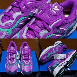 アディダス(adidas)のTEMPER RUN アディダス adidas パープル 紫 テンパーラン 27(スニーカー)