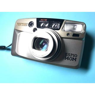 ペンタックス(PENTAX)の大人気! 多機能! かわいい! PENTAX ESPIO140M(フィルムカメラ)