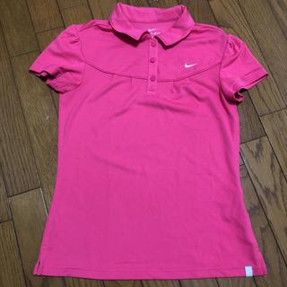 ナイキ(NIKE)のナイキ NIKE 半袖 ポロシャツ レディース ピンク(ポロシャツ)