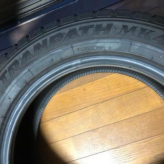 【国産スタッドレスタイヤ1本】トーヨータイヤ トランパスMK4α 17インチ(タイヤ)