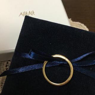 アーカー(AHKAH)のアーカー  オネスティ K18 リング 9.5号(リング(指輪))