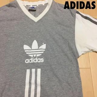 アディダス(adidas)の#3297 adidas アディダス Tシャツ Vネック(Tシャツ/カットソー(半袖/袖なし))