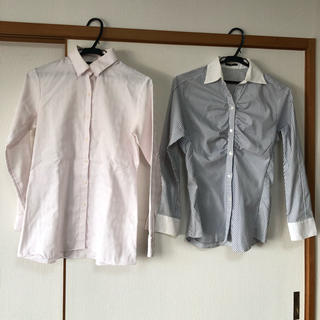セレクト(SELECT)のスーツセレクト ブラウス ✴︎シャツ[11号]2枚セット(シャツ/ブラウス(長袖/七分))