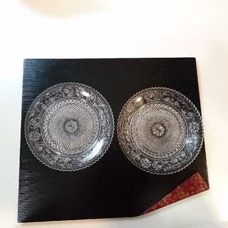 バカラ(Baccarat)のbaccarat バカラアラベスクプレート12センチ2枚(食器)