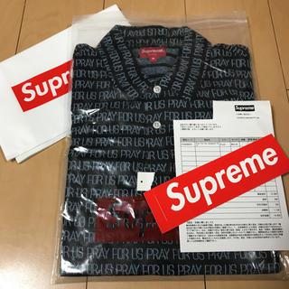 シュプリーム(Supreme)のSupreme Pray For Us Jacquard Polo(ポロシャツ)