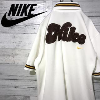 ナイキ(NIKE)の【激レア】ナイキ NIKE☆銀タグ 刺繍ビッグロゴ ロゴタグ 半袖シャツ 90s(シャツ)