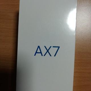 アンドロイド(ANDROID)のOPPO AX7 ゴールド 未使用品・未開封(スマートフォン本体)