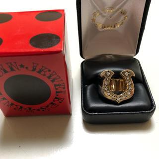 テンダーロイン(TENDERLOIN)のテンダーロイン ホースシューリング 8Kダイヤ入り(リング(指輪))
