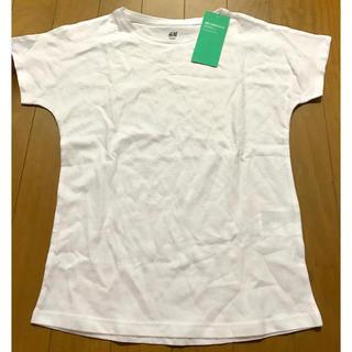 エイチアンドエム(H&M)の新品未使用半袖Tシャツ(Tシャツ/カットソー)