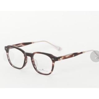 バーニーズニューヨーク(BARNEYS NEW YORK)の定価約4万伊達眼鏡変更可 OLIVERPEOPLESWEST メガネ べっこう(サングラス/メガネ)