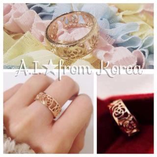 ★大人気★ローズホリックリング 薔薇(リング(指輪))