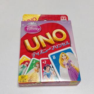ディズニー(Disney)のディズニー プリンセス UNO(トランプ/UNO)