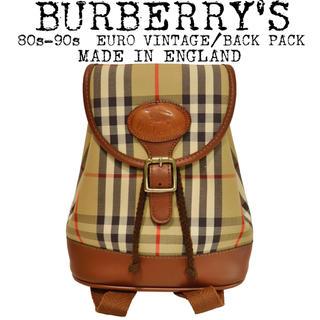 3c620a8b7c4e バーバリー(BURBERRY)の美品☆BURBERRY☆バーバリー☆リュック☆バッグパック