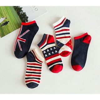 5足セット 即日完売商品 大特価品 アメリカン 靴下 ソックス 男女兼用(ソックス)