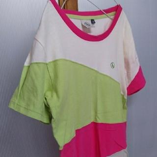 エーグル(AIGLE)のAIGLE エーグル マルチカラー Tシャツ  (Tシャツ/カットソー(半袖/袖なし))