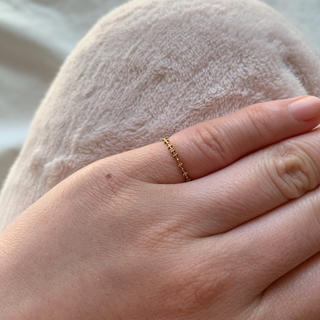 アガット(agete)のjupiter ダイヤピンキーリング(リング(指輪))