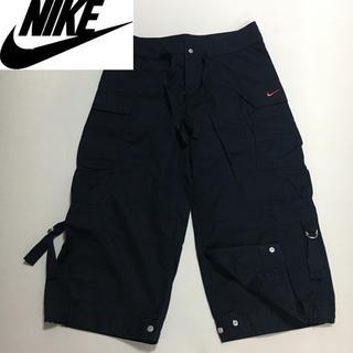 ナイキ(NIKE)のNIKE ナイキ ハーフ 5分丈 パンツ ブラック レディースMサイズ(ショートパンツ)