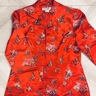 スパンク(Spank!)の【美品】原宿のシカゴで購入 蝶々のチャイナ服(その他)