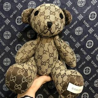 グッチ(Gucci)のGucci グッチ 人形 bear 熊 ぬいぐるみ(ぬいぐるみ)