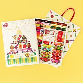 ネスレ(Nestle)の◇新品◇ キットカットショコラトリー 45周年アソート【紙袋付】◇代理購買◇(菓子/デザート)