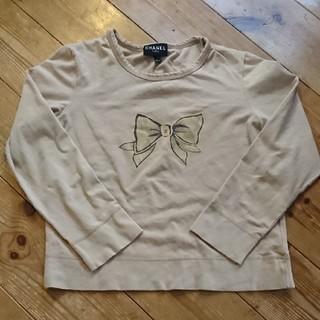 シャネル(CHANEL)のリボンのロングTシャツ(Tシャツ(長袖/七分))