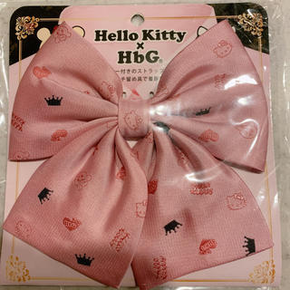エイチビージー(HbG)の HbG×キティ スクールリボン リボンタイ サンリオ (ネクタイ)
