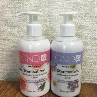 シーエヌディー(CND)の新品2本セット CND センセーション ハンド&ボディローション(ボディローション/ミルク)