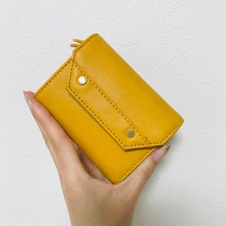 レプシィム(LEPSIM)のlepsim 三つ折り財布 イエロー(財布)