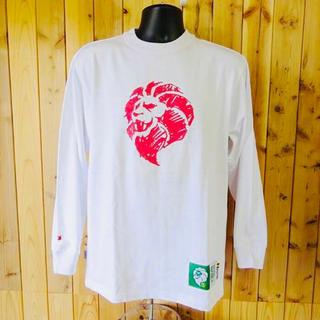 新品 安価 ネスタブランド プリント 長袖Tシャツ Mサイズ ホワイト