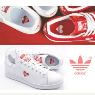 アディダス(adidas)のアディダス 限定モデル スニーカー スタンスミス ハート カップル adidas(スニーカー)