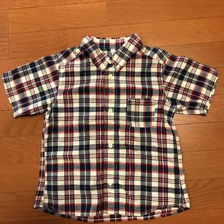 ムジルシリョウヒン(MUJI (無印良品))の無印良品 半袖シャツ 子供用 120cm(その他)