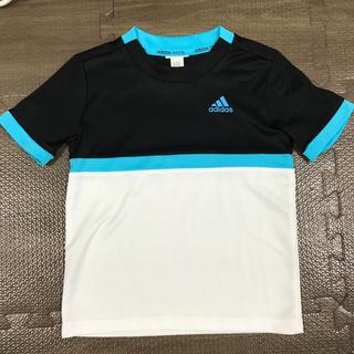 アディダス(adidas)のアディダス  Climalite Tシャツ 110 美品 テニス サッカー(Tシャツ/カットソー)