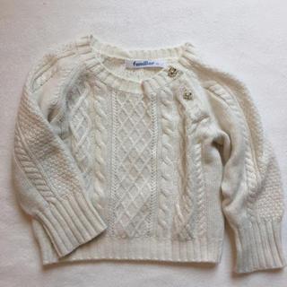 ファミリア(familiar)のファミリア セーター70(ニット/セーター)